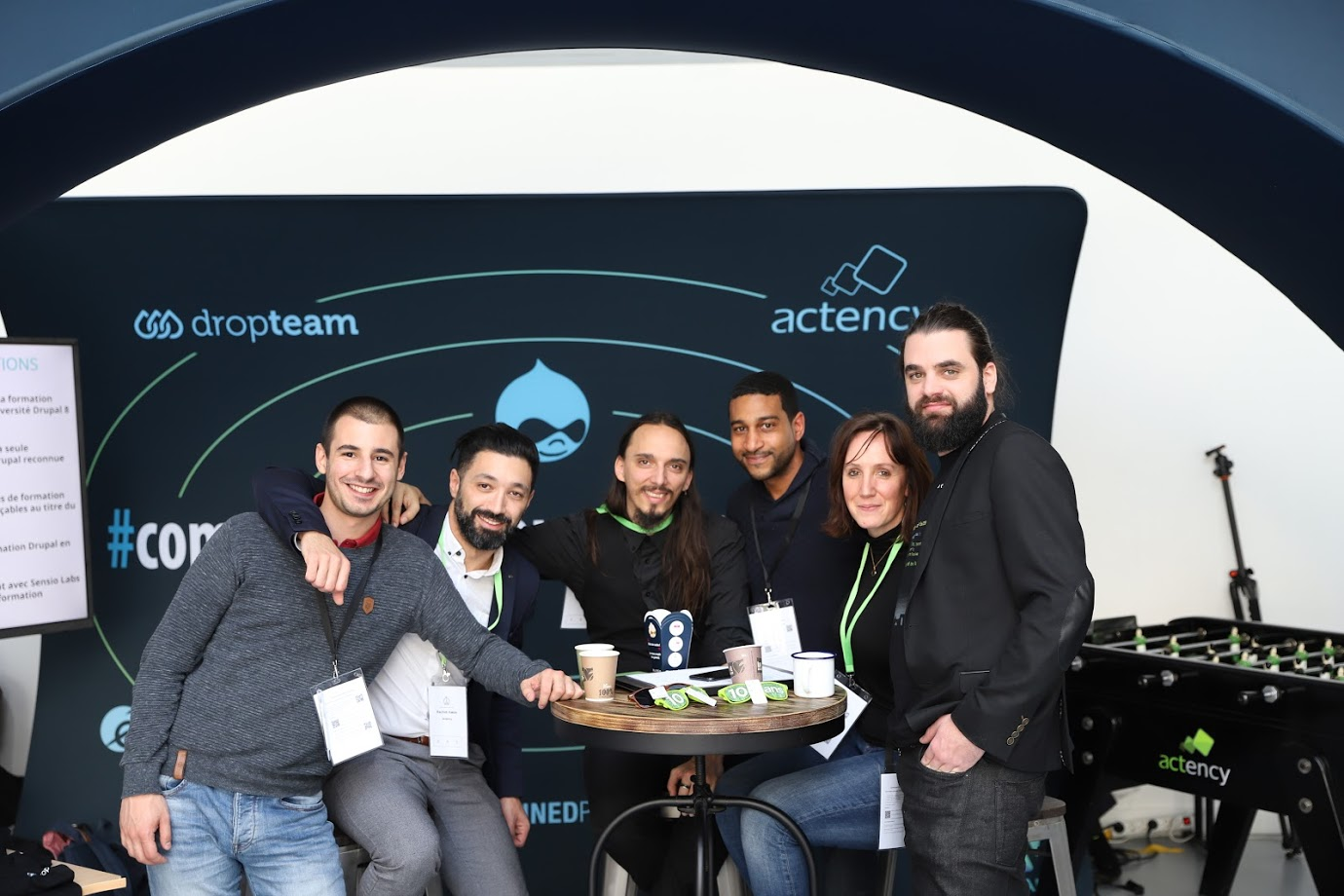 DrupalCamp Paris 2019 - Team Actency