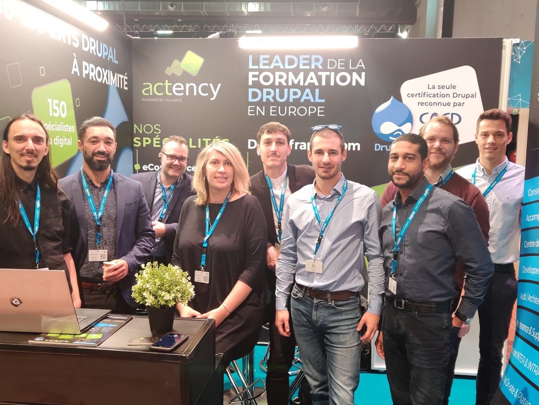 Team Actency Paris Open Source Summit 2019